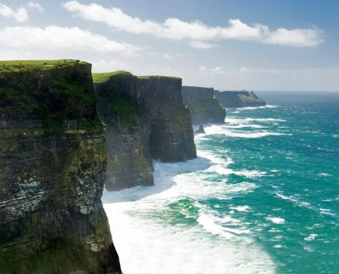 Cliffs of Moher, Wild Atlantic Way Tours of Ireland